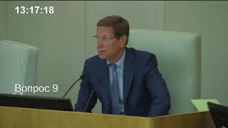 Пленарное заседание Государственной Думы 15.05.2018 (13.05 - 15.00) ( Госдума )