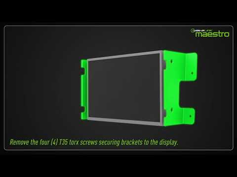 Video tutorial showing how to complete the  installation of the FOR1 and Maestro module.