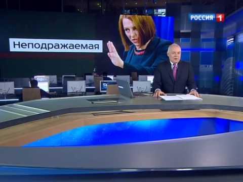 , title : 'Киселев рассказал анекдот про Псаки'