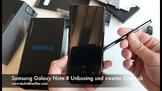 Samsung Galaxy Note 8 Unboxing | ENGLISH 4K