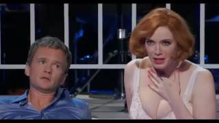 Christina Hendricks & Neil Patrick Harris