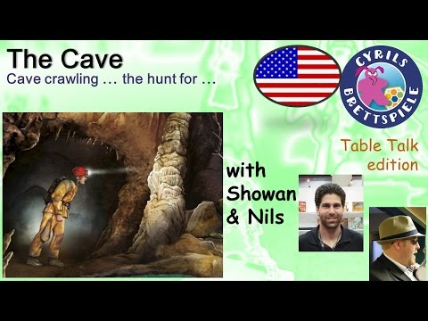 Cyrils Brettspiele - Table Talk Edition (eng.) - The Cave - TS09