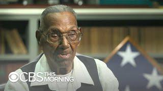 U.S's oldest living WWII veteran celebrates his 110th birthday