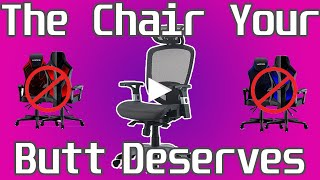 DONT Buy a Gaming Chair! | Hyken Technical Mesh Review and Assembly | The Best Chair Under $200?