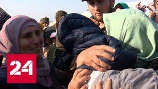 В Грозный спецрейсом из Сирии вернулись более 20 женщин и детей - Россия 24