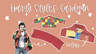 Harry Styles Cardigan | THE COLLAR