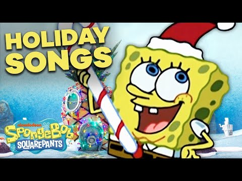 Top 5 SpongeBob Christmas Songs 🎄