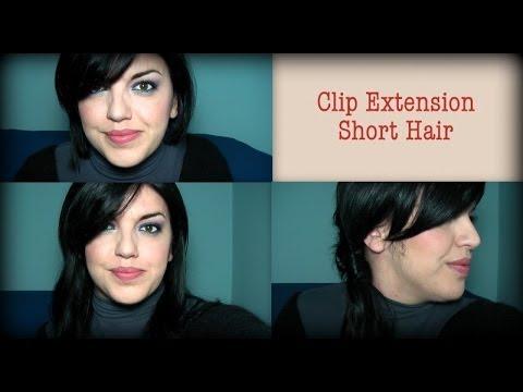 Extension a Clip per capelli corti!