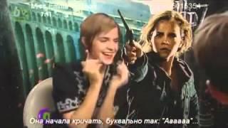 Интервью с Эммой Уотсон для CBBC Newsround Русские субтитры