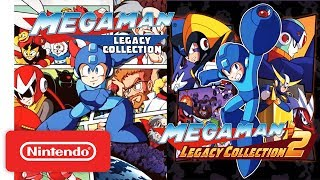 Mega Man Legacy Collection 1 + 2 Trailer – Nintendo Switch