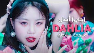 (G)I-dle - Dahlia / Arabic sub | أغنية جي آيدل الجديدة / مترجمة + النطق