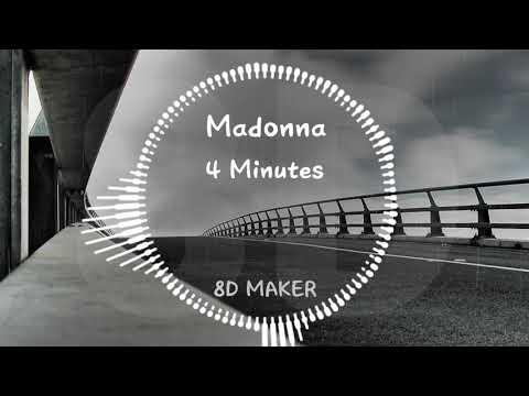 Madonna - 4 Minutes [8D TUNES / USE HEADPHONES] 🎧