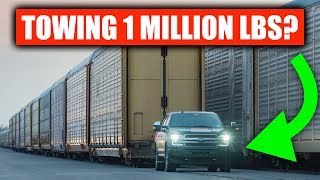 No, Ford's Electric F-150 Can't Tow 1 Million Pounds (Realistically)