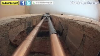 HOW TO CHASE PIPES INTO A WALL - Plumbing Tips