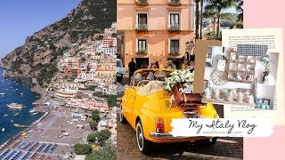 Italy Travel Vlog, Sorrento, Positano And Capri Summer 2019