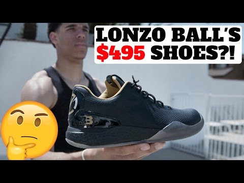 LONZO BALL'S $495 SIGNATURE SNEAKER THOUGHTS! (BIG BALLER BRAND)