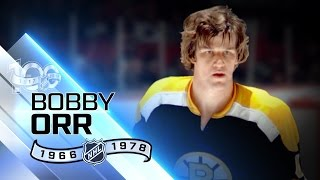 Bobby Orr revolutionized defensive position
