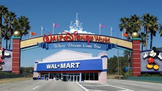 Closest Wal-Mart to Disney World on 535 | 4/24/18