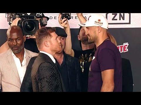 Canelo Alvarez vs Sergey Kovalev Presser & Face Off !! Golovkin Left In The Dark? Upset Brewing?