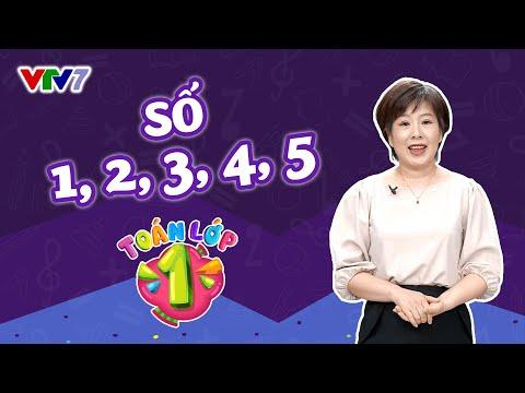 Lớp 1: TOÁN | Bài 1: Làm quen với các số 1,2,3,4,5 | VTV7
