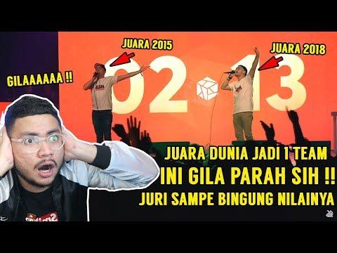 Download GILAAAA JUARA DUNIA BEATBOX 2015 DAN 2018 JADI 1 TIM KEREN GILAAA ANCURR !! - SansReaction HD Mp4 3GP Video and MP3