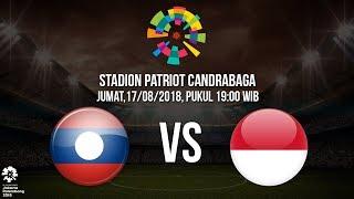 Live Streaming  Laga Timnas U-23 Indonesia Kontra Laos di Asian Games 2018