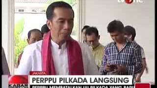SBY Terbitkan PERPPU Jokowi Sambut Positif PDI Tanggapi Pesimis