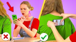 BACK TO SCHOOL! Fun DIY School Hacks And Supplies By KABOOM!