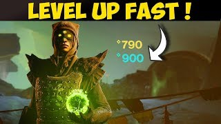 FASTEST Way To Level Up 750 to 900 In Destiny 2 Shadowkeep Without Tokens !