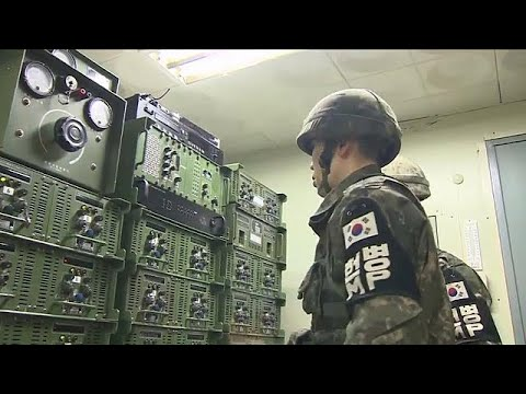 Σίγησαν τα μεγάφωνα στα σύνορα με τη Βόρεια Κορέα