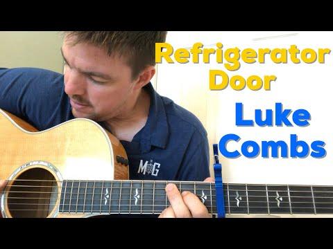 Refrigerator Door | Luke Combs | Beginner Guitar Lesson