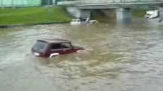Казань дождь август 2007