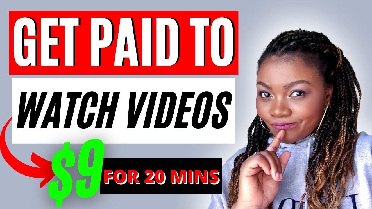 Make $9 In 20 Minutes Watching YouTube Videos (Make Money Online 2021) thumbnail