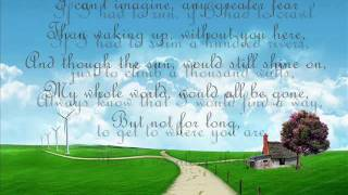 sara evans - no place that far lyrics