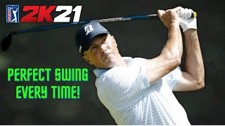 How to Get the Perfect Swing Every Time! PGA TOUR 2K21