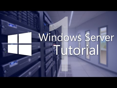 Windows Server Tutorial Teil 1 - Einführung und Erstellung des Active Directory