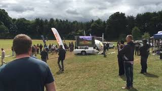 MOBO MB-5 mobile LED screen broadcast in a Drone Racing event