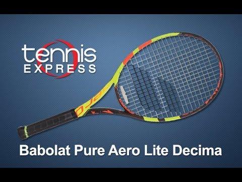 Babolat 2018 Pure Aero Lite La Decima Tennis Racquet Review | Tennis Express
