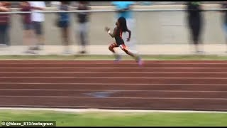 7-year-old Boy leaves track competitors in the dust as he sprints 100M in 13.48 seconds