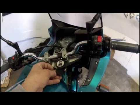 Motorrad USB Steckdose  anschließen