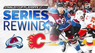 SERIES REWIND: Avalanche down Flames in five games in First Round