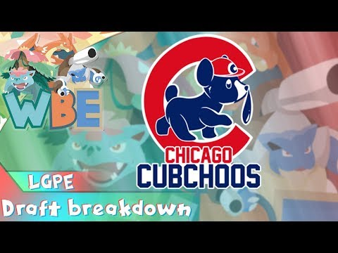 WBE Let's Go Pikachu and Eevee Draft League Breakdown! Chicago Cubchoo Draft Analysis