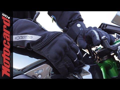 Especial guantes calefactables: análisis en Motocard.com
