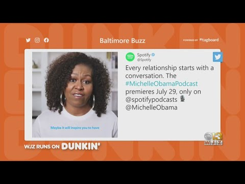 Baltimore Buzz: Michelle Obama's Podcast Debut's Today