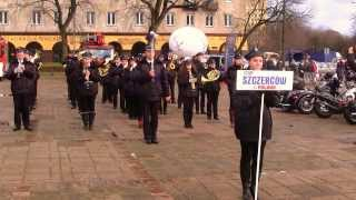 preview picture of video 'WOŚP Łódź 2014 - Orkiestra Dęta OSP Szczerców - cz 3'