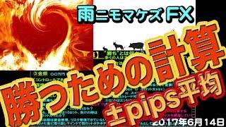 【勝つための計算〜±pips平均〜】-FX-ドル円 相場観察