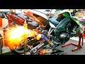 KOMPILASI TERHEBAT BUNYI EXHAUST SUPERBIKE DARI 200cc HINGGA 1500cc