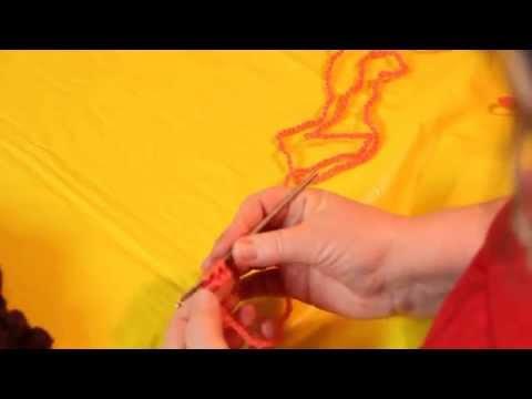 Как подобрать пряжу на шарф-снуд