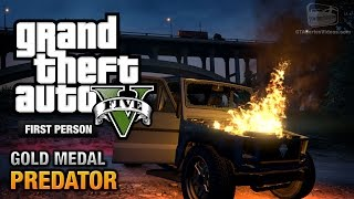 GTA 5 - Mission #50 - Predator [First Person Gold Medal Guide - PS4]