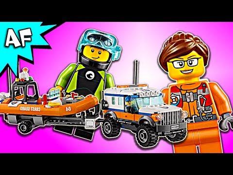 Vidéo LEGO City 60165 : L'unité d'intervention en 4x4